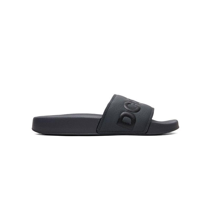 Chanclas DC Shoes: DC SLIDE (GREY BLACK)
