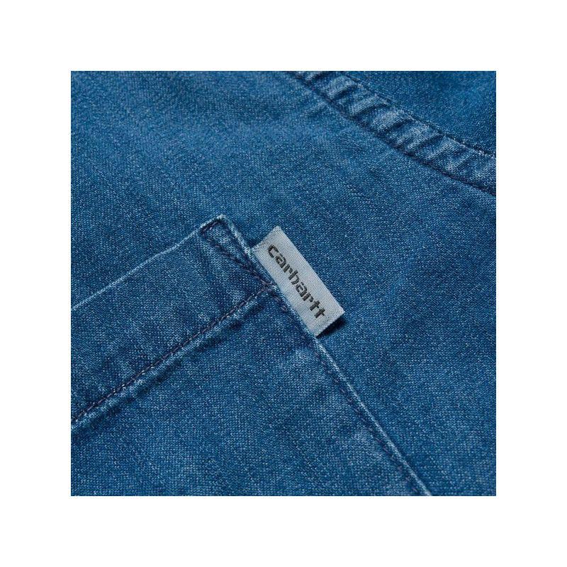 Camisa Carhartt: LS Civil Shirt (Blue)