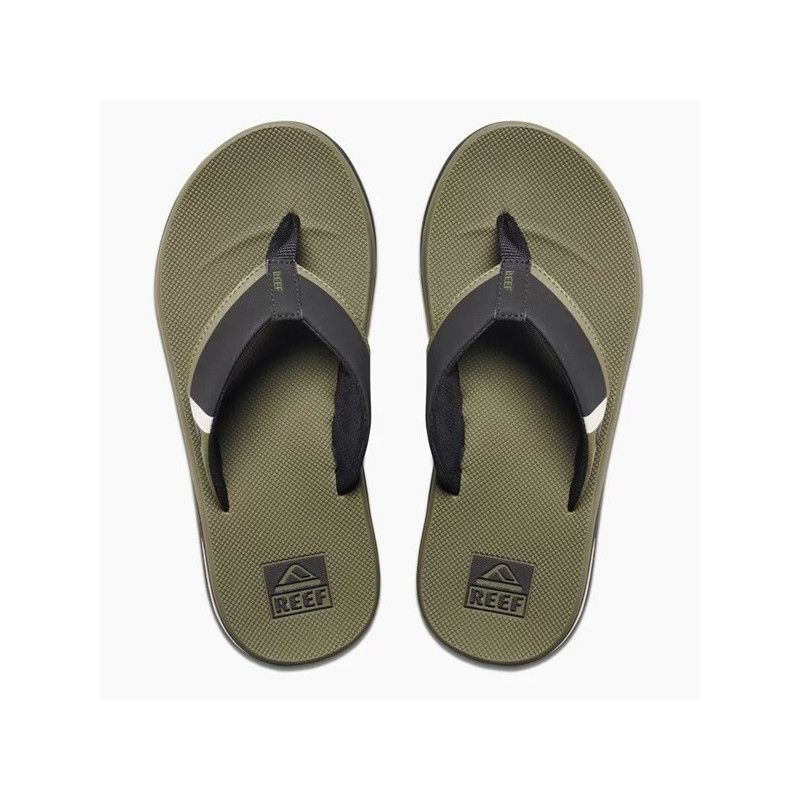 Chanclas Reef: FANNING LOW (OLIVE)