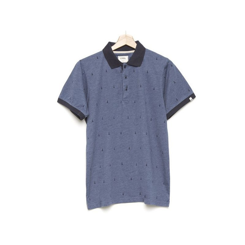 Polo Tiwel: Hube (Light Navy Melange)