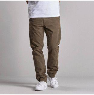 Pantalón Carhartt: Johnson Pant (Moor)