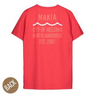 Camiseta Makia: CIVIL T SHIRT (RED)