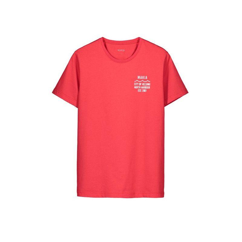 Camiseta Makia: CIVIL T SHIRT (RED)