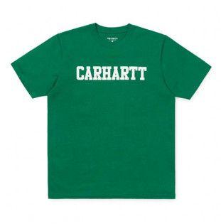 Camiseta Carhartt: SS College T Shirt (Dragon White)