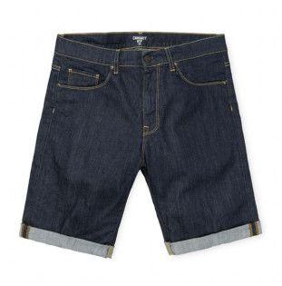 Bermuda Carhartt: Swell Short (Blue One Wash)