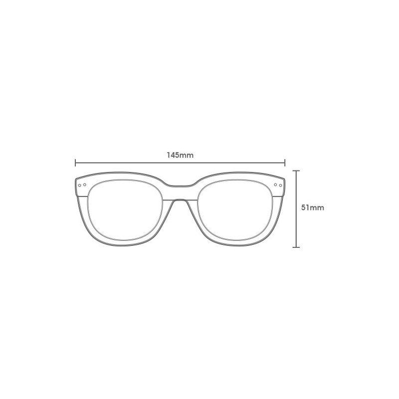 Gafas Carve: PACIFICO (Black Streak Pola 3081)