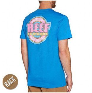 Camiseta Reef: REEF AUTHENTIC TEE (LAKE BLUE 2)
