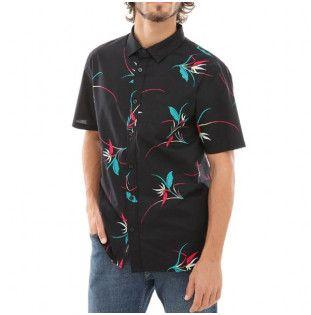 Camisa Vans: MN SHADE SS (BLACK OPEN SHADE FLORAL)