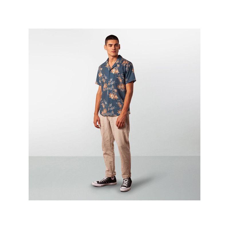Camisa Rhythm: VINTAGE ALOHA SS SHIRT (Pacific Blue)