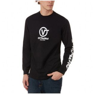 Camiseta Vans: DISTORTED PERFORM (Black)