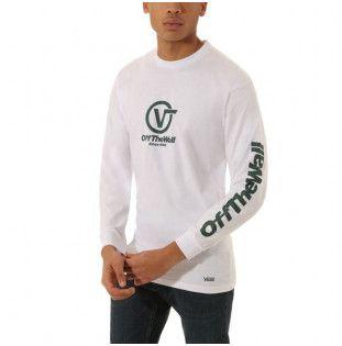 Camiseta Vans: DISTORTED PERFORM (White)