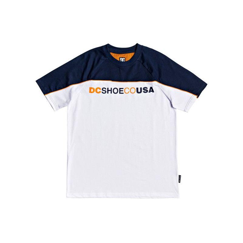 Camiseta DC Shoes: BROOKLEDGE SS (SNOW WHITE)