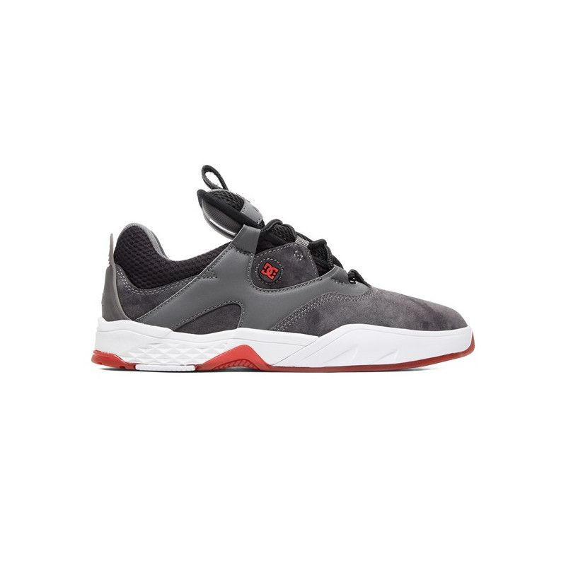 Zapatillas DC Shoes: KALIS LE (GREY BLACK RED)