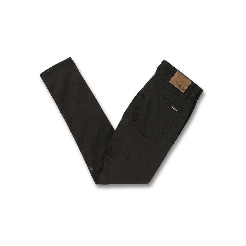 Pantalón Volcom: 2x4 TAPERED (BLACK ON BLACK)