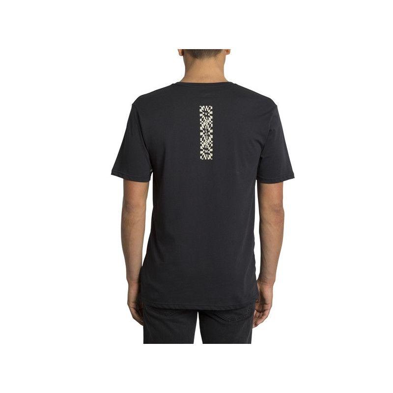 Camiseta Volcom: RESTONED BSC SS (BLACK)