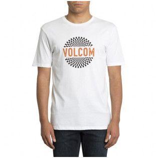 Camiseta Volcom: RESTONED BSC SS (WHITE)