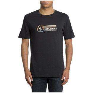 Camiseta Volcom: DESCENT BSC SS (BLACK)