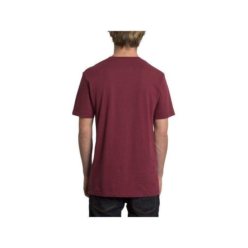 Camiseta Volcom: SPRAY STONE LTW SS (Cabernet)