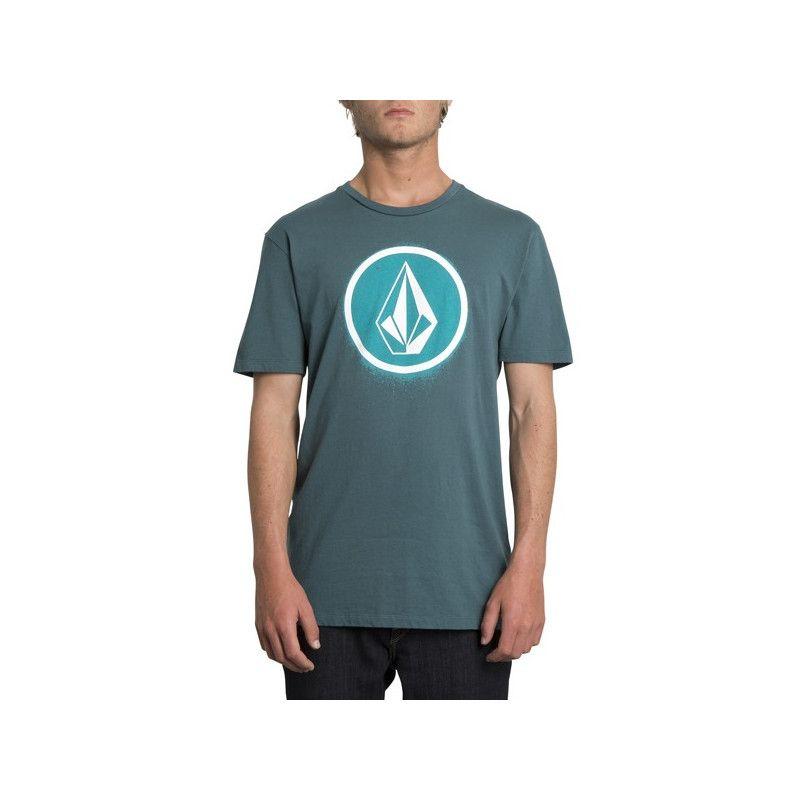 Camiseta Volcom: SPRAY STONE LTW SS (MEDITERRANEAN)