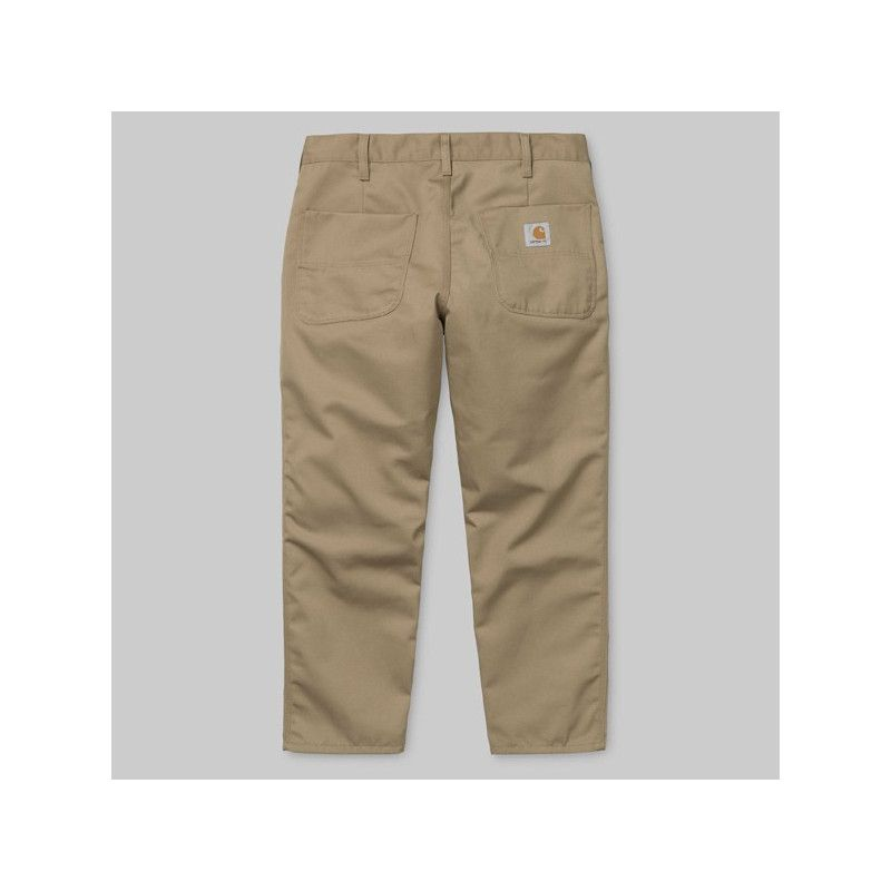 Pantalón Carhartt: Abbott Pant (Leather)