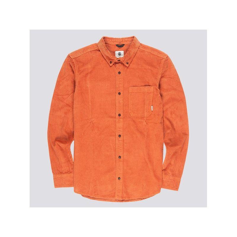 Camisa Element: LUMBER CORD LS (GINGER BREAD)