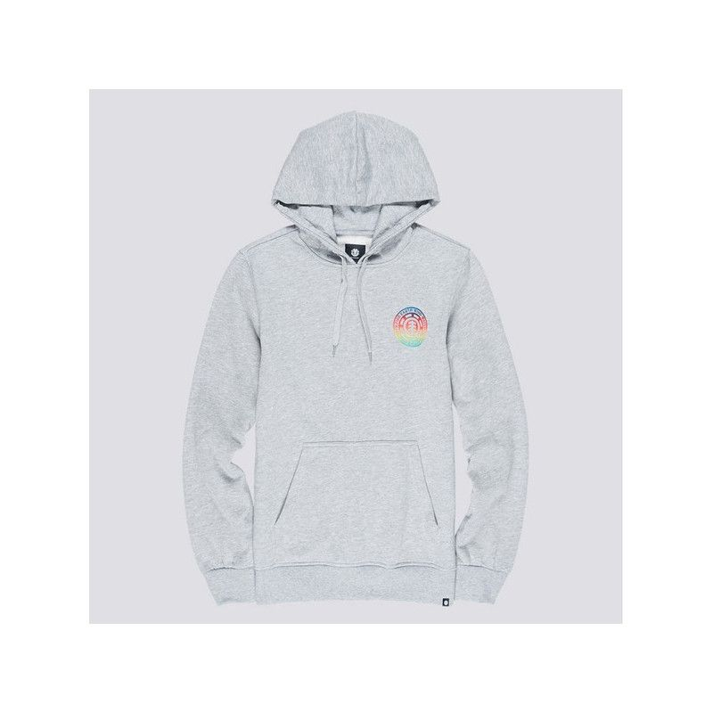 Sudadera Element: SEAL GRADIENT HO (GREY HEATHER)