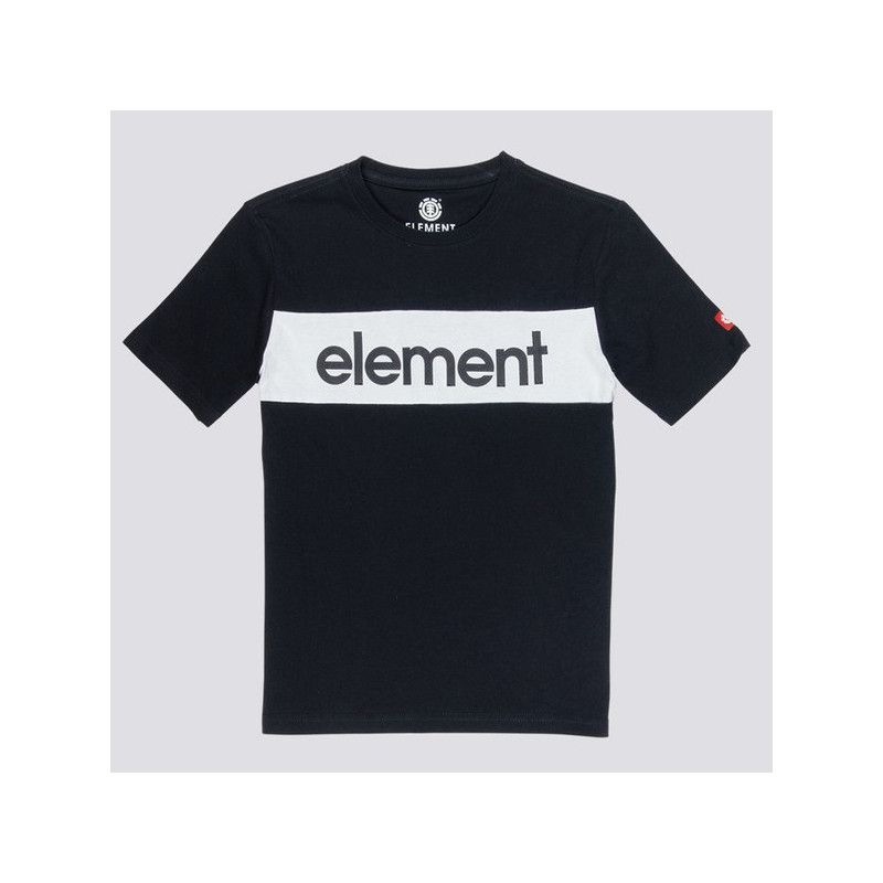 Camiseta Element: PRIMO FLAG CR (FLINT BLACK)