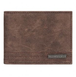 Cartera Quiksilver: STITCHY WALLET VI (CHOCOLATE BROWN)
