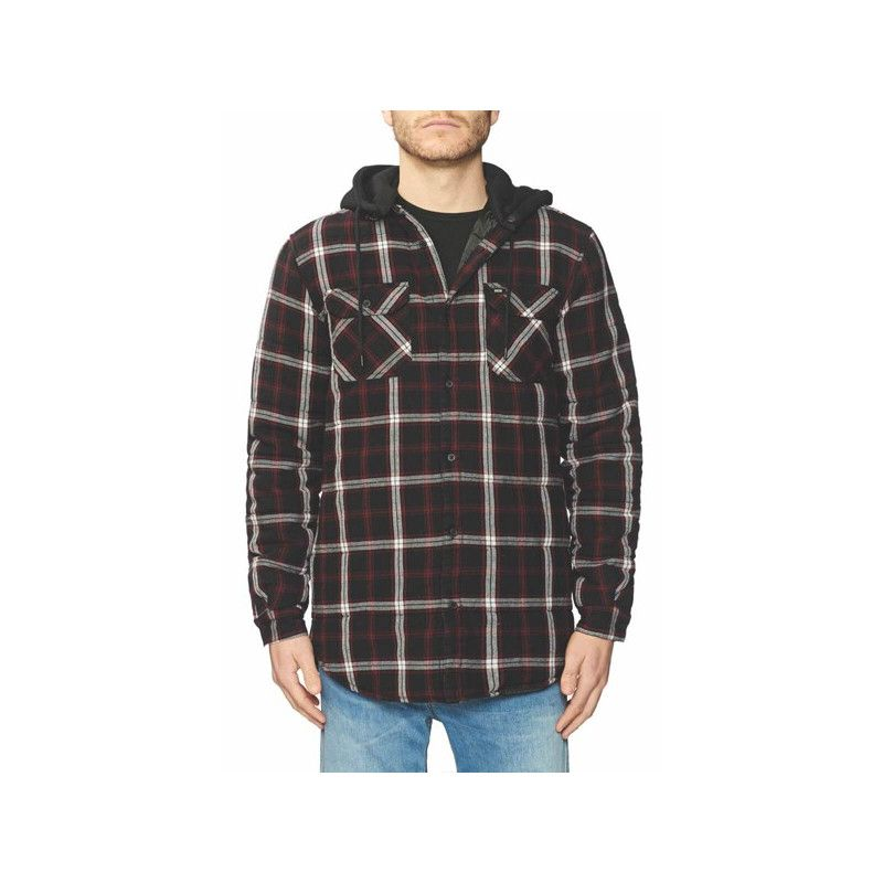 Camisa Globe: Alford III LS Shirt (Berry)