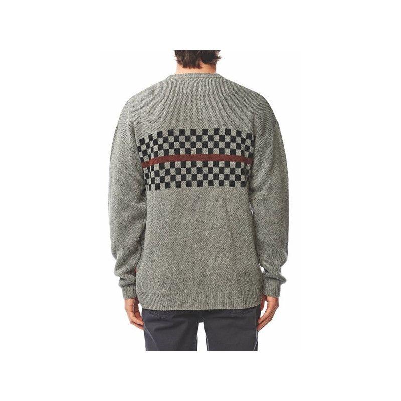Jersey Globe: Duster Sweater (GREY NEP)