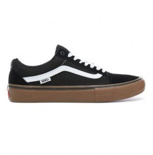 Zapatillas Vans: Old Skool Pro (BLACK WHITE MEDIUM GUM) Vans - 1