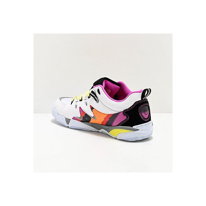Zapatillas Es: SYMBOL (WHITE PURPLE)