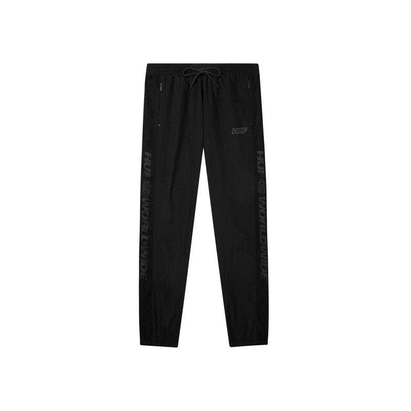 Pantalón HUF: MARATHON TRACK PANT (BLACK)