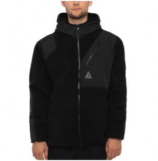 Chaqueta HUF: AURORA TECH JACKET (BLACK)