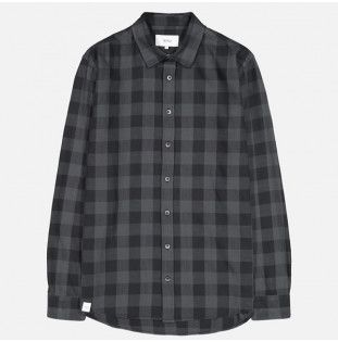 Camisa Makia: Bodega Shirt (Washed Grey)