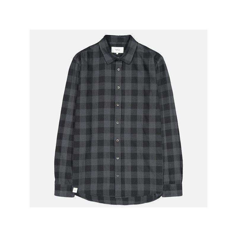 Camisa Makia: Bodega Shirt (Washed Grey)