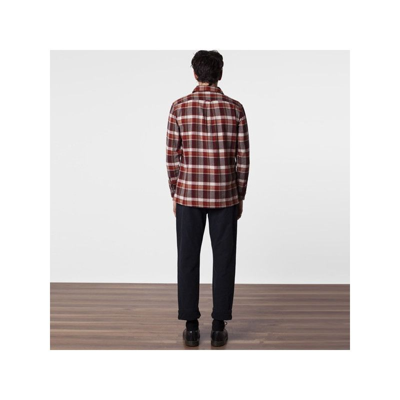 Chaqueta Rhythm: WOODSMAN LS SHIRT (MAPLE)
