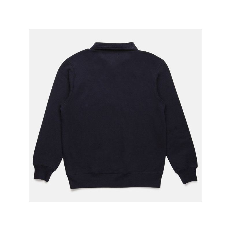 Sudadera Rhythm: JAMES QUARTER ZIP PULLOVER (NAVY)