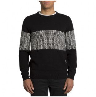 Jersey Volcom: PASTY OUR TIME SWTR (BLACK)
