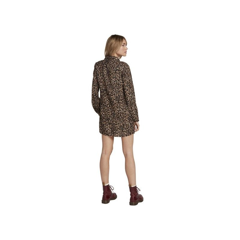 Vestido Volcom: FAD FRIEND DRESS (ANIMAL PRINT)