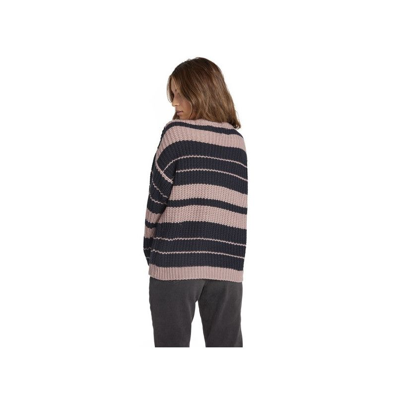 Jersey Volcom: MOVE ON UP SWEATER (FADED MAUVE)