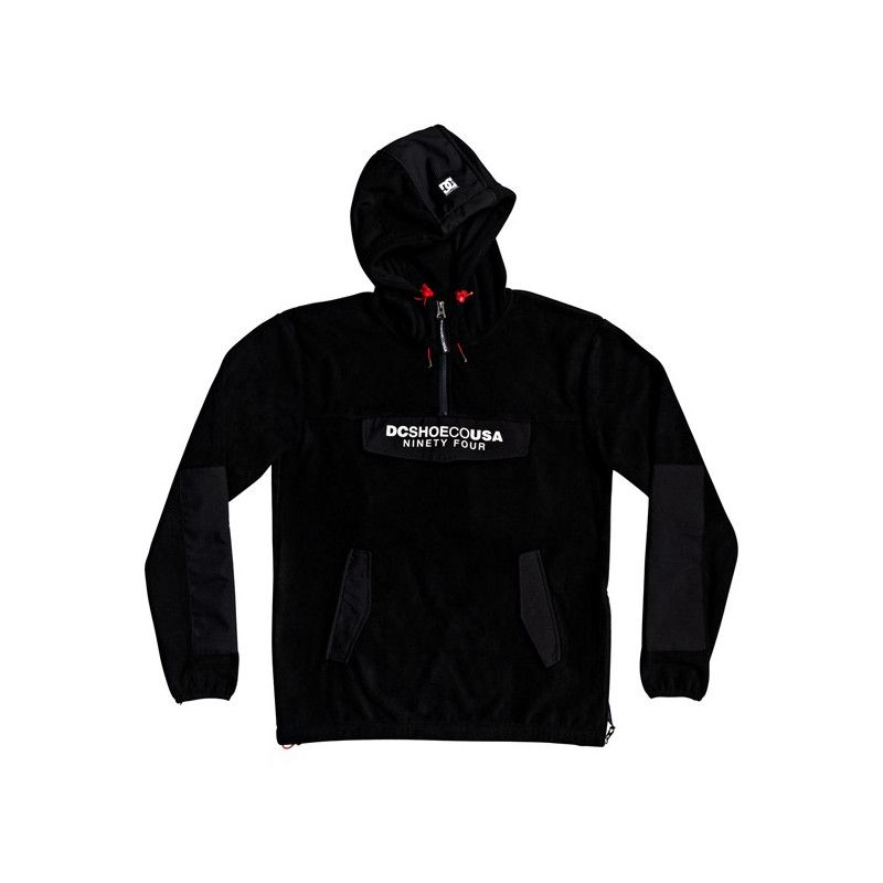Sudadera DC Shoes: TAGANS HOOD (BLACK)