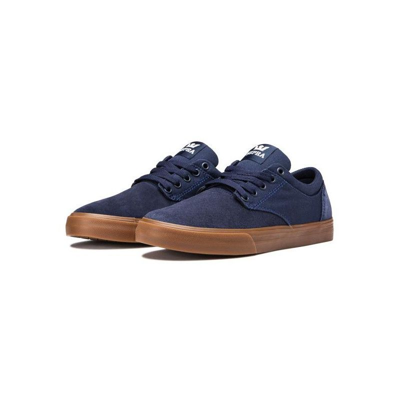 Zapatillas Supra: CHINO (NAVY NAVY GUM)