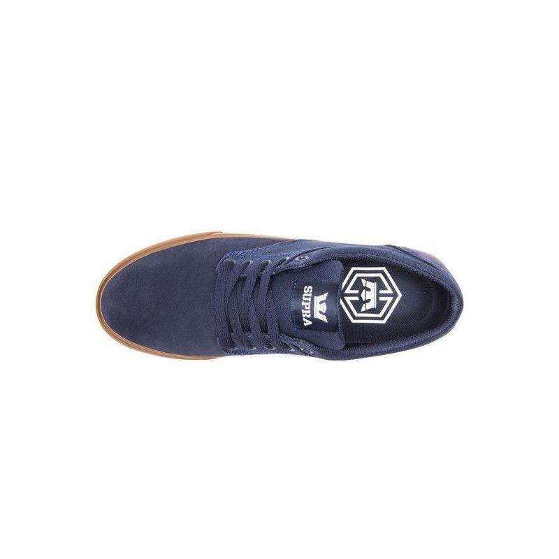 Zapatillas Supra: CHINO (NAVY NAVY GUM)