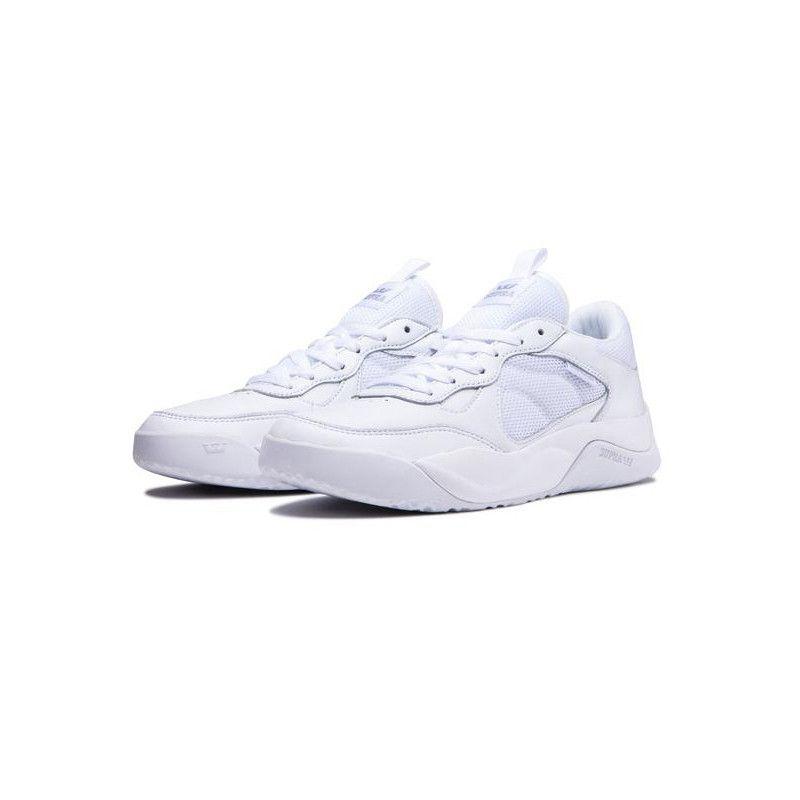 Zapatillas Supra: PECOS (WHITE WHITE)