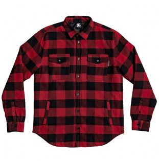 Camisa DC Shoes: LANDFILLED LS (CHILI PEPPER) DC Shoes - 1