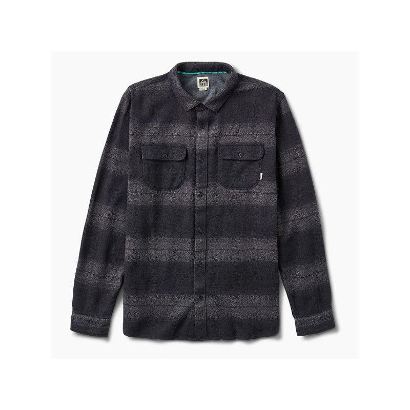 Camisa Reef: REEF ICE DIP LS (BLACK)
