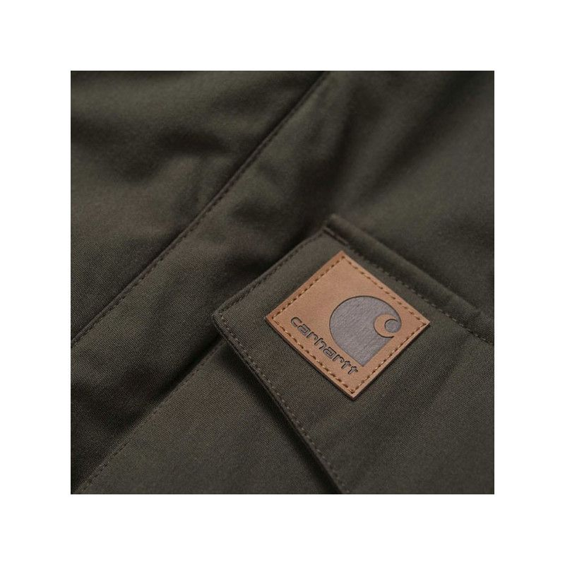Chaqueta Carhartt: Trapper Jacket (Cypress Black)