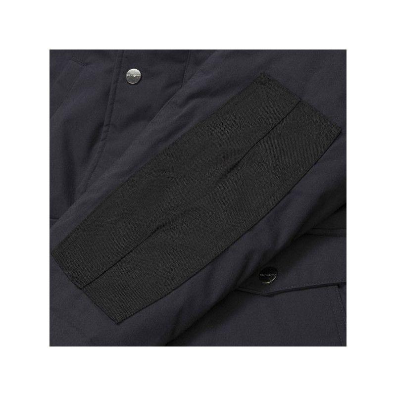 Chaqueta Carhartt: Trapper Jacket (Dark Navy Black)