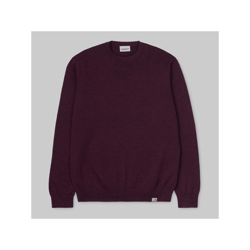 Jersey Carhartt: Playoff Sweater (Merlot Heather)